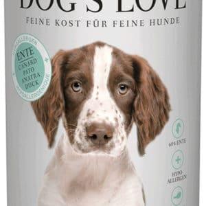 Dogs Love hypoallergen Ente