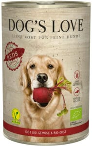 Dogs Love Barf Bio Reds Nassfutter 400 g Dose