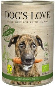 Dogs Love Barf Bio Greens Nassfutter 400 g Dose