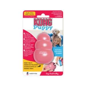 KONG Puppy rosa Small