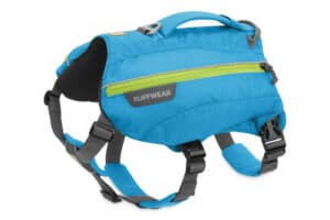 Ruffwear Singletrak Pack Hunderucksack blue dusk