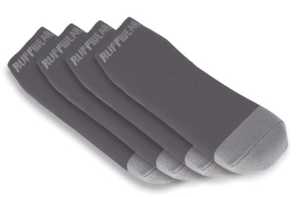 Ruffwear Bark and Boot Liners twillight grey Set