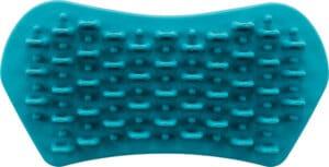 Trixie Massage Striegel mit Noppen Oberseite