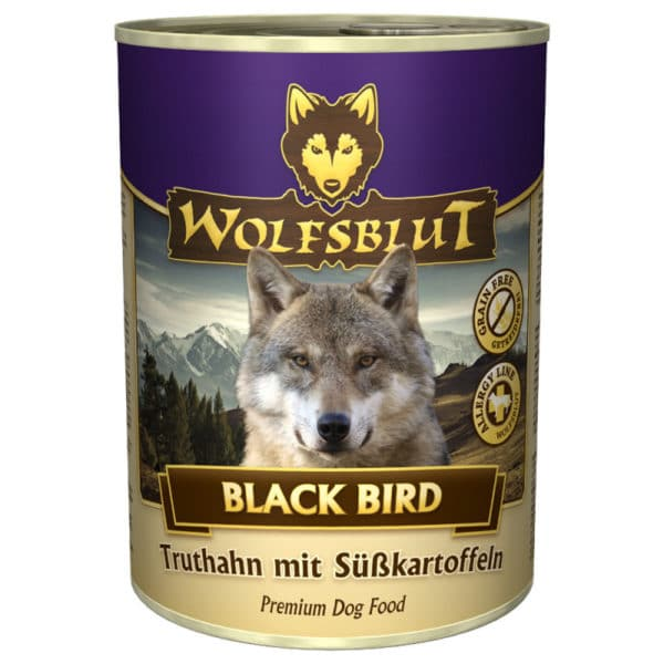 Wolfsblut Nassfutter Black Bird 400 g