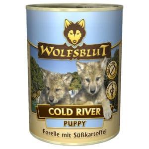 Wolfsblut Nassfutter Puppy Cold River 400 g