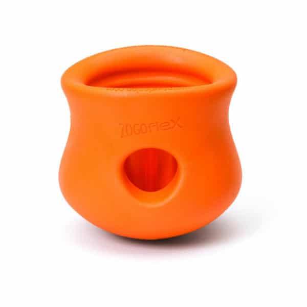 West Paw Toppl tangerine orange Frontansicht