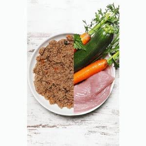 Dog´s Love Canna Bio Pute 400 g Zutaten