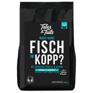 Tailes & Tales Noch ganz Fisch im Kopp 4 kg