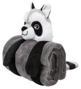 Trixie Welpen Kuschel Set Panda zusammengerollt